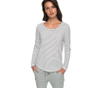 Just Simple Stripes - Langarmshirt - Blau