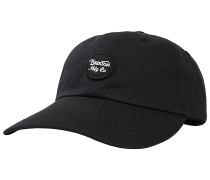 Wheeler Strapback Cap - Schwarz
