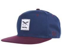 Daily Contra Snapback Cap - Blau