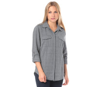 Military Influence Stripe - Bluse - Blau