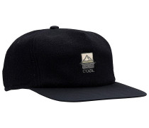 The North Strapback Cap - Schwarz