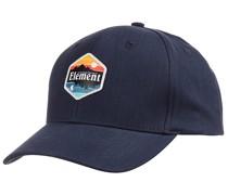 Camp II Snapback Cap - Blau