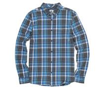 Buffalo L/S - Hemd - Blau