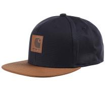 Logo Bi-Colored Snapback Cap - Blau