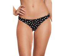 On The Dot Hipster - Bikini Hose - Schwarz