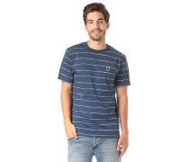 Division - T-Shirt - Blau