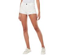 Moto-Restored Mid - Shorts - Weiß