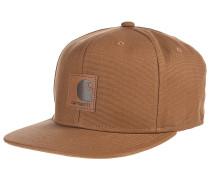 Logo Snapback Cap - Braun