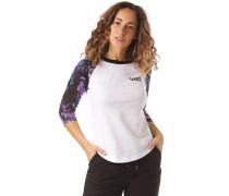 Drip Floral Raglan - Langarmshirt