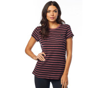 Striped Out Crew - T-Shirt - Rot