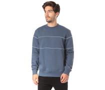 Piping - Sweatshirt - Blau