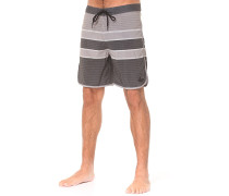 Striped Performance - Boardshorts - Grau