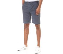 Twill - Chino Shorts - Blau
