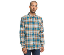 Northboat L/S - Hemd - Blau