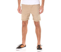 Hooked Out - Shorts - Beige