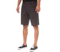 Stretch - Chino Shorts - Schwarz