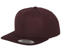Classic Snapback Cap - Rot