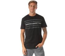 Contested Stripe - T-Shirt - Schwarz