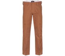 Cotton 873 - Stoffhose - Braun