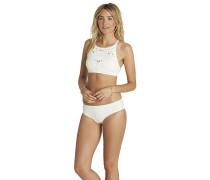 Cut It Out Hawaii - Bikini Hose - Weiß