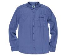 Bennet L/S - Hemd - Blau
