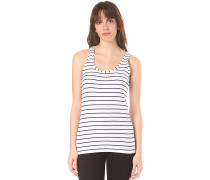Striped - Top - Blau