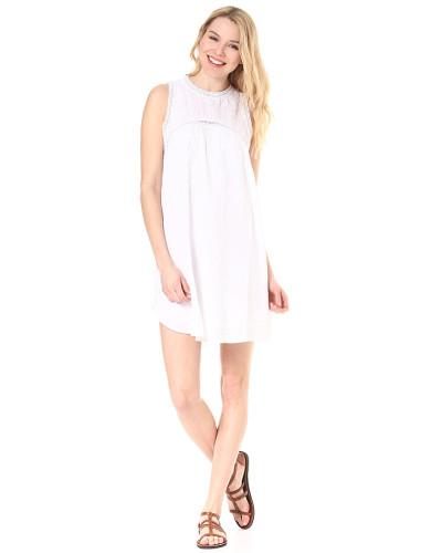 Sunset Path - Kleid - Weiß