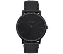 Porter Lthr - Uhr - Schwarz