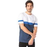 Deck Stripe - T-Shirt - Weiß