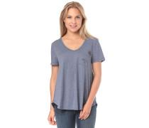 First Light Pocket - T-Shirt - Blau