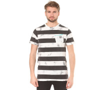 Christoph Washed Stripe - T-Shirt - Streifen