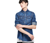 Wolker - Hemd - Blau
