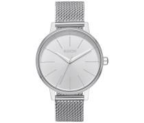 Kensington Milanese - Uhr - Silber