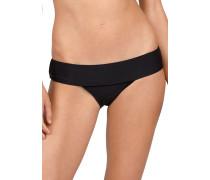 Simply Solid Modest - Bikini Hose - Schwarz