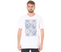 Ornemental Pocket - T-Shirt - Weiß