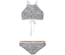 Lanka Maoi AOP - Bikini Set - Weiß