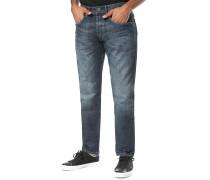 Callen Crop - Jeans - Blau