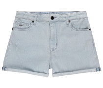 Mermaid Ave Denim - Shorts - Blau