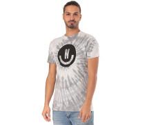 Smiley Wash - T-Shirt - Grau