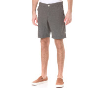 Karel Microchecks - Shorts - Schwarz