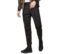 Bronson Pleated Relaxedapered - Stoffhose