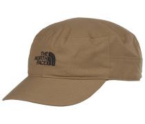 Logo Military Strapback Cap - Beige