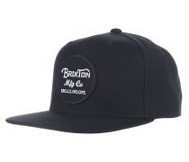 Wheeler Snapback Cap - Schwarz