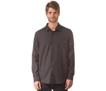 Classic L/S Shirt - Hemd - Schwarz