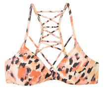 Water Color Leo Bralette - Bikini Oberteil