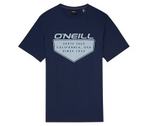 Cruz - T-Shirt - Blau