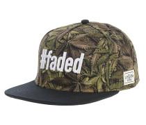 #Faded Snapback Cap - Grün