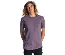 Organic Pocket - T-Shirt - Lila