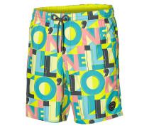 Long Vert Art - Boardshorts - Gelb