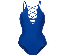 Line Smooth - Badeanzug - Blau